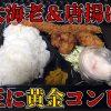 蒲生 とりサブローの大海老フライ弁当(横浜醤油旨味唐揚げコンビ)